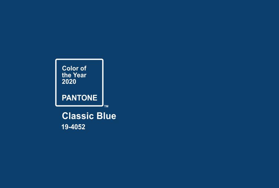 رنگ آبی کلاسیک پنتون