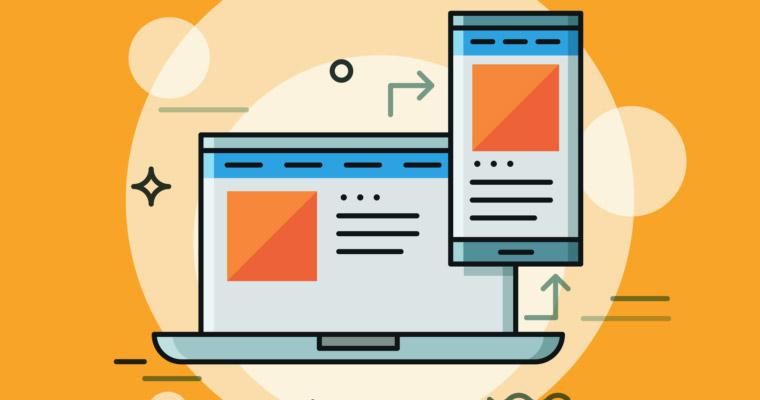 نمایش وب سایت در نسخه موبایل